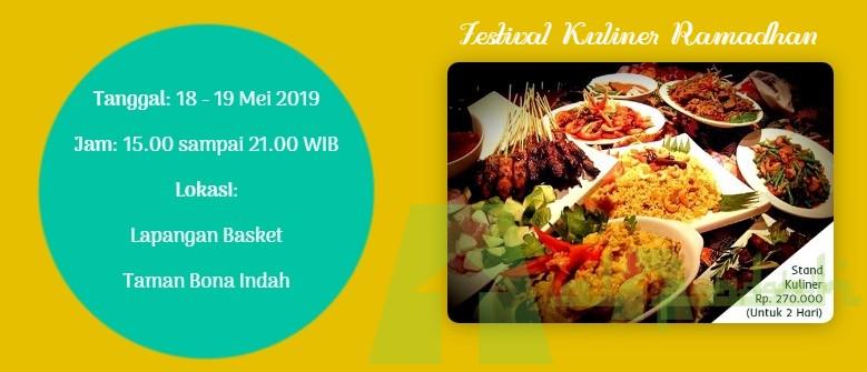 Festival Kuliner Ramadhan Masjid Al-Falah Bona Indah